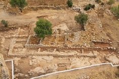 Researchers of the Hebrew University and the Israel #Antiquities Authority discovered remains identified as King David's palace at Khirbet Qeiyafa (Elah Fortress), a fortified city in Judah dating to the time of King David.  Explore biblical archeology in #Israel, and experience history.