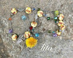 Collar + Fly me to the moon by Lita Blanc, via Flickr