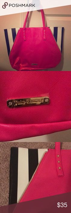 Juicy Couture Tote Bag New Juicy Couture Tote Bag!! Super cute never been worn! Juicy Couture Bags Totes