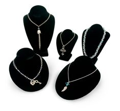 Necklace Bust Display Kit for Jewelry and Necklaces