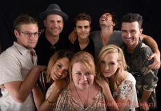 The Vampire Diaries at Comic Con 2016.