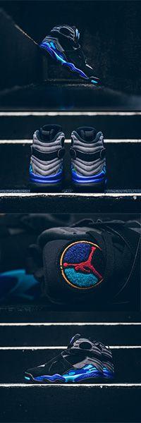 """Air Jordan 8 """"Aqua"""" Available for preorder at https://www.kickbackzny.com/shop/preorders/nike-air-jordan-viii-8-retro-aqua/"""