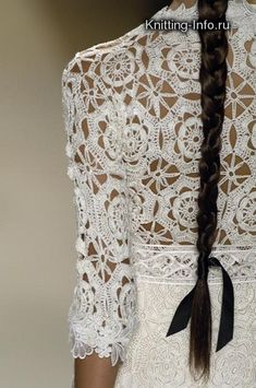 More beautifully crocheted clothing