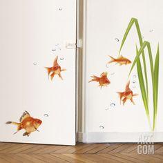 Aquarium Wall Decal at Art.com