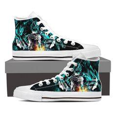 Dragon Ball Gogeta Super Saiyan Power Up Potara Fusion Sneaker Shoes  #DragonBall #Gogeta #SuperSaiyan #PowerUpPotara #FusionSneakerShoes