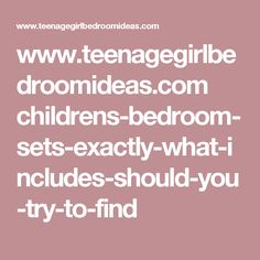 www.teenagegirlbedroomideas.com childrens-bedroom-sets-exactly-what-includes-should-you-try-to-find