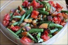 Roasted Potato, Tomato, and Green Bean Salad