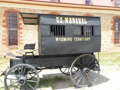 "The Wyoming Territorial Prison Wagon - ""Butch Cassidy"" Prison"