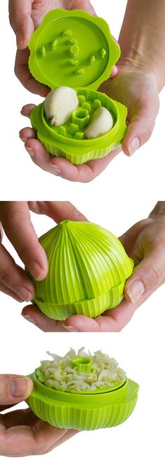 Twist Garlic Chopper - Cuts fresh garlic quickly and easily