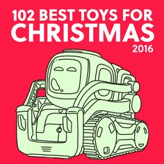 I'm so happy I found this awesome list of the best toys for Christmas 2016! So helpful with tons of unique gift ideas.