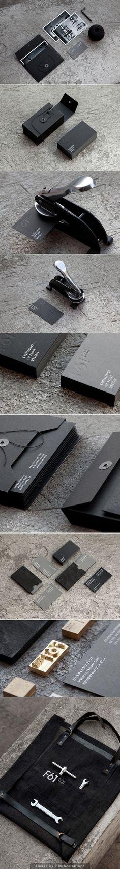 visual identity | F61 Work Room – Printing Studio Brand Identity