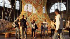 Ernesto Neto: GaiaMotherTree / Fondation Beyeler at Zürich Main Station
