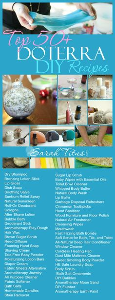 Fun recipes using doTerra Essential Oils! If you would like to learn more about doTerra or have any questions, please feel free to cont. Doterra Essential Oils, Natural Essential Oils, Essential Oil Blends, Natural Oils, Natural Beauty, Limpieza Natural, Natural Body Wash, Natural Sunscreen, Coconut Oil Uses