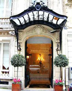 Hotel-Mayfair-Paris.   One if the reasons I never get tired of Paris. Every hotel is a wonderland of details.  Leo Dowell Interiors.