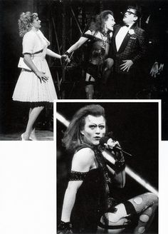 Anthony Head as Dr Frankenfurter in The Rocky Horror Show (with Craig Ferguson as Brad Majors). Oh. My. Lord.