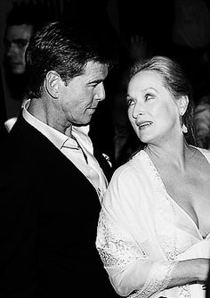 Meryl Streep and Pierce Brosnan   Mamma Mia!