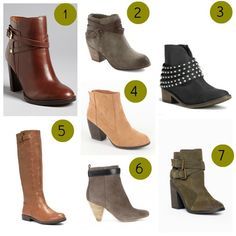 Stilettos and Diaper Bags: Fall Boots I'm LOVING