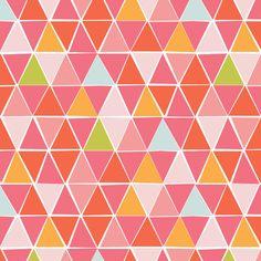 """Bio-Stoffe - MONALUNA Bio Baumwolle Juicy """"Mosaic"""" - ein Designerstück von PinkPeppa bei DaWanda"""