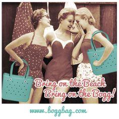 Bring on the #bogg, bring on the #beach! #boggbag #bestbeachbagever #bringontheheat #vintage #vintagebeach