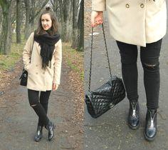 Carmel coat #fashion #ootd #moda #karmel #fringe #frędzle