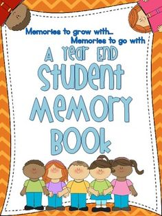 Thanks for the Memories: A Year End Memory Book