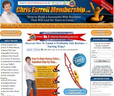 Chris Farrell is one of the most respected and successful internet marketers in the industry today. Chris Farrell Membership has been voted the Number One Internet Marketing Coaching Program in 2010, 2011 and 2012.There are THOUSANDS of verifiable testimonials online about Chris Farrell: please Google 'Chris Farrell Reviews' to see for yourself....     For more Information please Visit: http://www.buildaonlineincome.com/