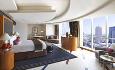 The Presidential Suite at the Fairmont Hotel in Dubai, UAE