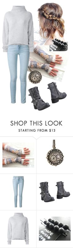 """""""Winter"""" by cassievision ❤ liked on Polyvore featuring Frame, KEB and Le Kasha"""