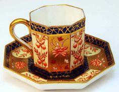 Wedgewood Imari Teacup & Saucer