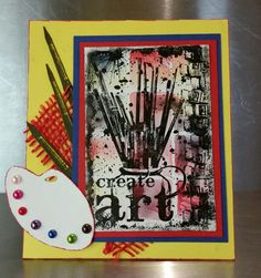 Create Art Scrapbook Cards, Scrapbooking, Art Blog, Create, Scrapbooks, Notebooks