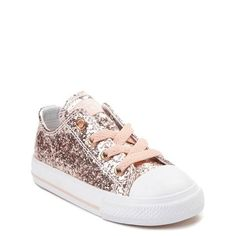 2b1a32e9eae3 People also love these ideas. Alternate view of Toddler Converse Chuck  Taylor All Star Lo Glitter Sneaker.