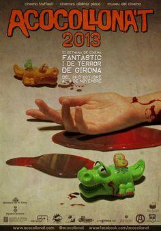 Capa Caída estará en la Inauguración de ACOCOLLONAT 2013. III setmana de cinema fantàstic i de terror de Girona, que se celebrará del 29 de Octubre al 3 de Noviembre.