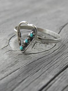 Native American Heart Ring.