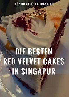Die besten Cafés um Red Velvet Cake in Singapur zu essen? Keine Sorge, ich hab da was für euch zusammengestellt! #RedVelvetCake #Singapur #TheRoadMostTraveled #DCSuperHeroesCafe #NekoNoNiwa #HighSociety