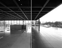 //photographer::Hagen Stier //project::New National Gallery in Berlin, Germany //architect::Mies van der Rohe **really neat series with a fantastic use of  the tilt-shift lens.