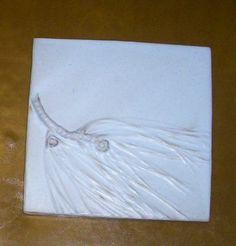 pine needles tile