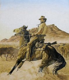 The Drover Drawing