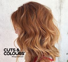Rood | halflang haar | CUTS & COLOURS