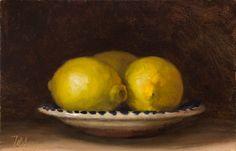 Julian Merrow Smith  Lemons on a Spanish Plate