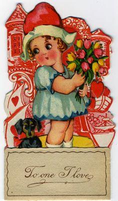Vintage Dog Valentine #3 http://pawsforreaction.blogspot.ca/2014/02/vintage-dog-valentine-3.html