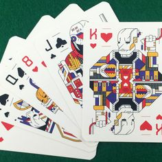 STARDECK playing cards from Touch Of Modern. Printed by USPC