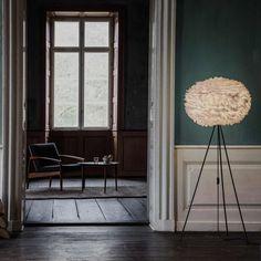 Lampenschirm Eos large d:65cm, weiß federleichte Steh- oder Deckenlampe Mehr VITA COPENHAGEN: http://www.desiary.de/designmarken/VITA-COPENHAGEN/