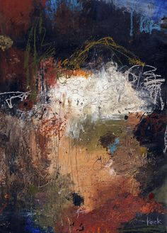 """Michel Keck; Mixed Media, 2012, Painting """"Cuts Like A Knife"""""""