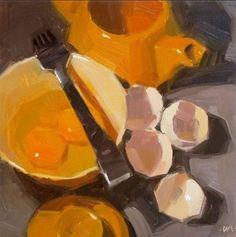 """"""" Huevos"""" Bodegones  Carol Marina - EEUU"""