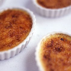 Crème Brûlée ~This is our adaptation of a recipe developed many years ago by Dieter Schorner, then pastry chef at New York City's Le Cirque.
