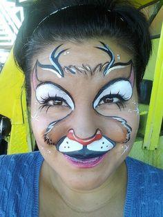 Reindeer --  Yaris Facepainting