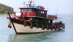Edina - Deep Sea Fishing Boat; Pattaya, Thailand