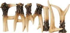 Cabela's: Antler Table Top Word Signs