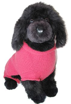 Morehouse Merino Original Dog Sweater Pattern for Leftover Yarn