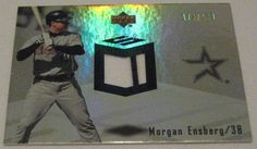 MORGAN ENSBERG - 2007 Upper Deck Spectrum Game Used Dual Jersey Card - # 178/199